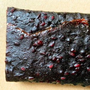 Apple and blackberry fruit leather