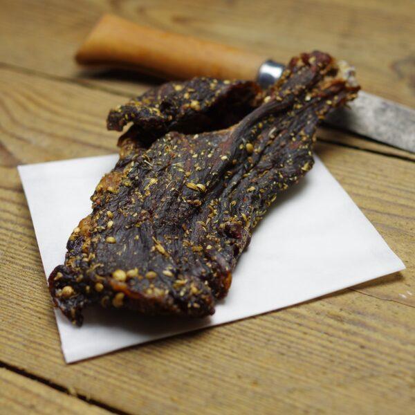 biltong cured meat