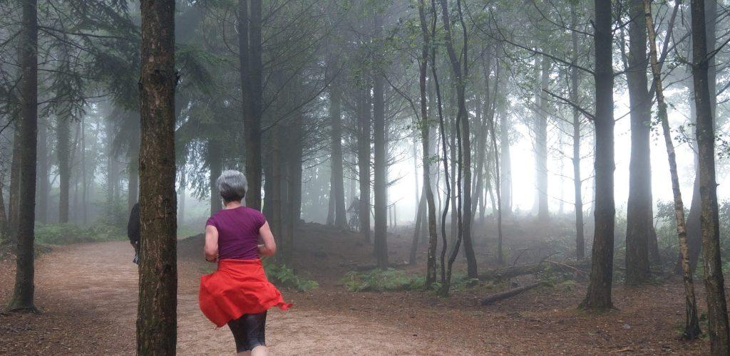 Running in Haldon Great Woods