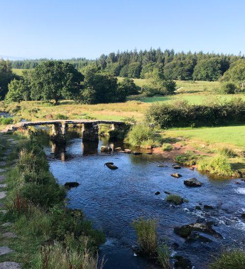 clapper bridge near Belever forest