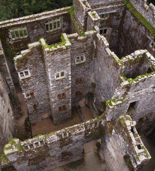 Berry Pomeroy Castle original house